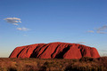 ayers rock at 6:45 pm