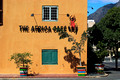 the african cafe, a colourful and trendy restaurant in cape town that serves a buffet with all the local dishes
