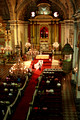 wedding inside san agustin church (we could see from upstairs in the museum)